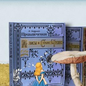 На страницах этой книги выдуманная Алиса встречает настоящую Алису Лиддел