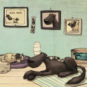 Знаменитые литературные собаки поздравляют с Новым годом