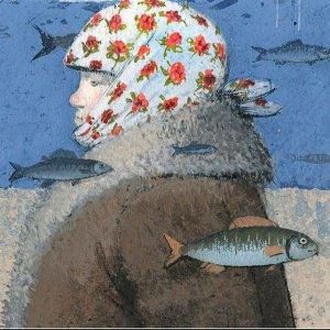 Ветер, брызги, травы, лед. Из чего созданы иллюстрации Игоря Олейникова