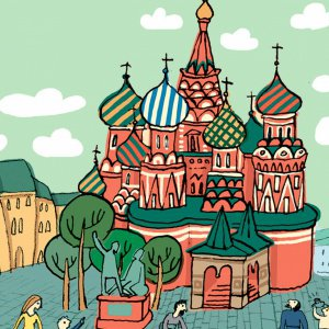 Пешком по Москве с Тимкой и Тинкой. Захватывающее путешествие