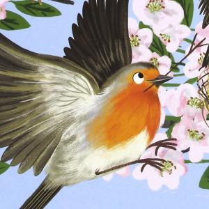 «В гости к природе».  Книжки с наклейками британской художницы Ники Дайсон