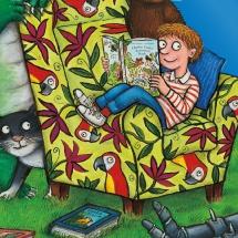 На хорошем примере: герои детских книг тоже любят читать