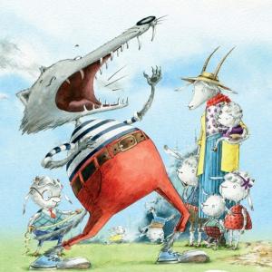 Отчихвостить злого волка, проучить Дадона: сказочная классика с новыми иллюстрациями