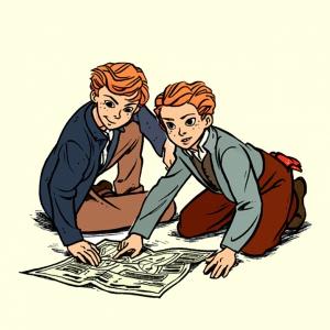 Дружить, учиться, быть счастливым. Чему еще герои комиксов могут научить ребенка