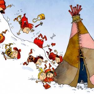 Самая забавная книга про школу: ледниковые будни и первобытные каникулы