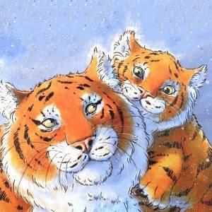 Отцы в детских книжках. «А как это, когда твой папа — тигр?»