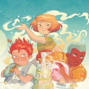 Пять миров. Эпичный фэнтези-комикс о дружбе и приключениях