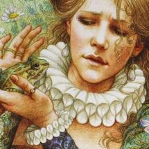 Волшебный мир цветных карандашей Энн Ивонн Гилберт