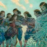 Ганс Христиан Андерсен «Дикие лебеди». Иллюстрация Антона Ломаева