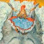 Шарль Перро «Красная шапочка». Иллюстрация Антона Ломаева