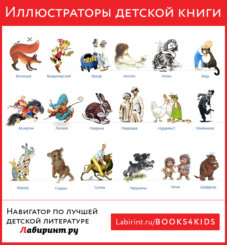 Иллюстраторы детской книги