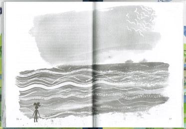 3 Иллюстрация Анны Романовой к книге Сергея Вольфа «Дом в сто этажей»