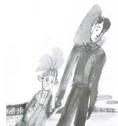 2 Иллюстрация Анны Романовой к книге Сергея Вольфа «Дом в сто этажей»