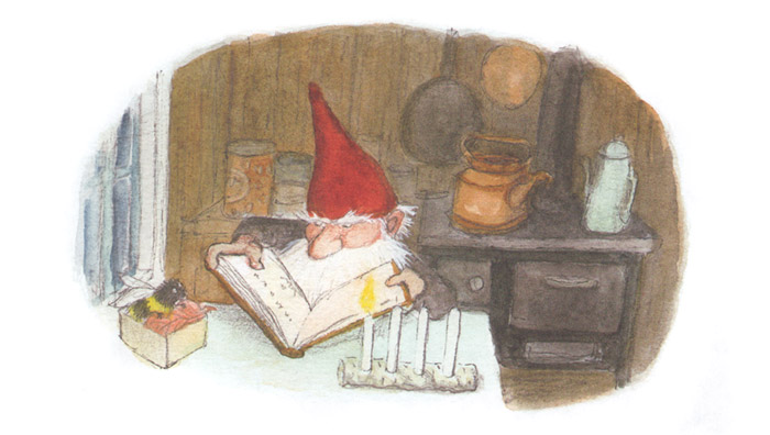 Иллюстрация Эвы Эриксон к книге Ульфа Старка «Рождество в лесу»