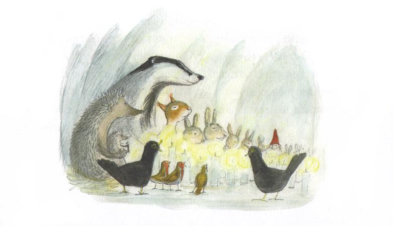 6 Иллюстрация Эвы Эриксон к книге Ульфа Старка «Рождество в лесу»