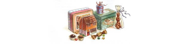 6 Иллюстрация Марины Пузыренко из книге «Шоколадный дедушка›