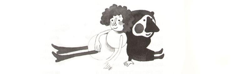 4 Иллюстрация Варвары Помидор к книге «Простодурсен»