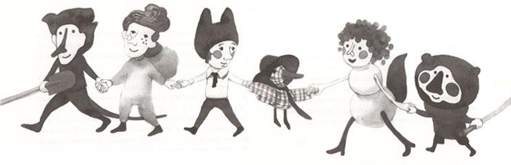 Иллюстрация Варвары Помидор к книге «Простодурсен»