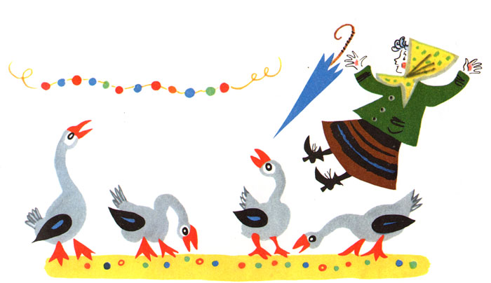 Иллюстрация Бориса Калаушина к книге Ивана Демьянова «Ребятишкина книжка»
