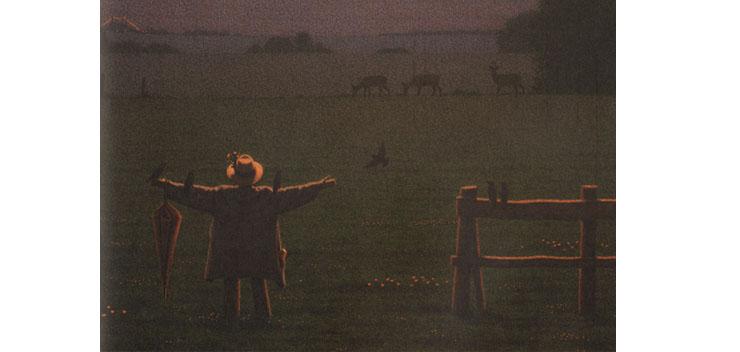 3 Иллюстрация Кинта Буххольца к книге «Сладких снов, маленький медвежонок»