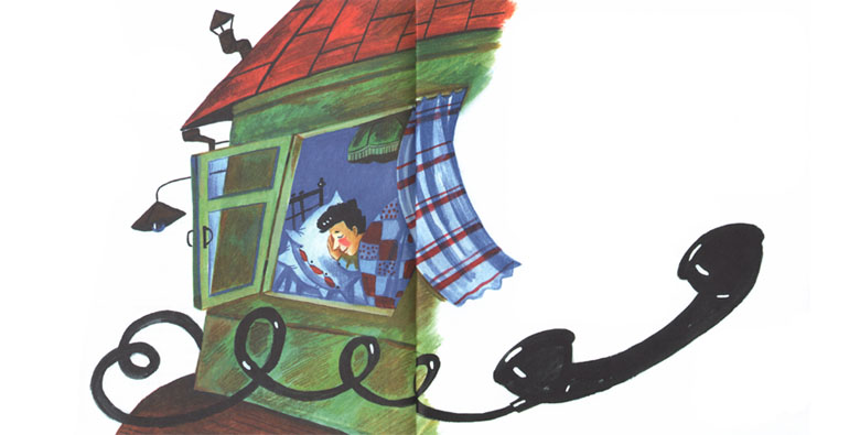 Иллюстрация Екатерины Гавриловой к книге «Алошка»