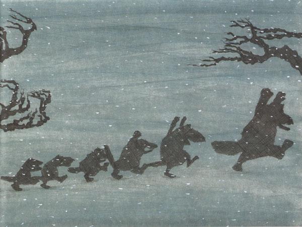 3 Иллюстрация Кристины Андрес к книге «Как приручить волков»
