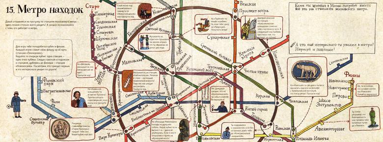 1 Иллюстрация Анны Десницкой к книге «Метро на земле и под землей»