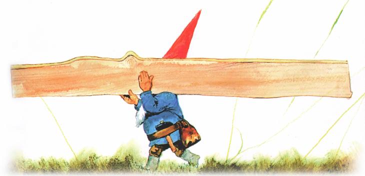 2 Иллюстрация Рина Поортфлита к книге Вила Хёйгена «Энциклопедия гномов»