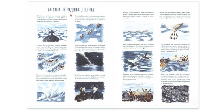 2 Иллюстрация Уильяма Грилла к книге «Затерянные во льдах Экспедиция Шеклтона»
