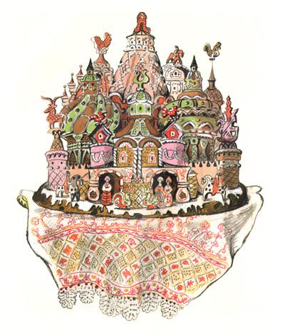 5 Иллюстрация Татьяны Мавриной к сказке «Царевна-лягушка»