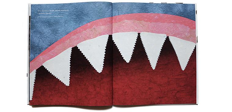 Зубы акулы-иллюстрация Стива Дженкинса