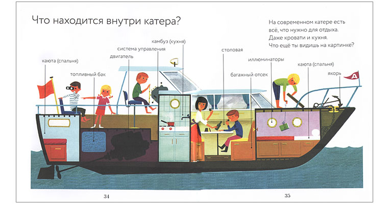 1 Иллюстрация Алена Грэ к книге «Транспорт»