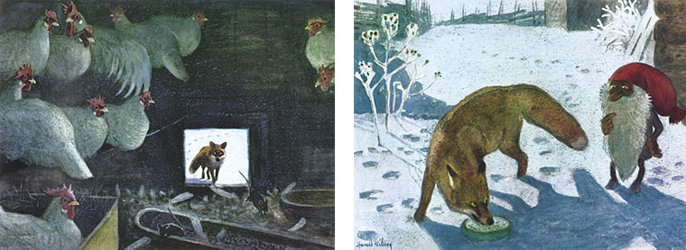 1 Иллюстрации Харальда Виберга к книге Астрид Линдгрен «Томтен»