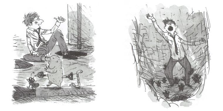 Иллюстрации Косиро Хаты к книге Нобуко Икитавы «Когда папа приходит поздно»