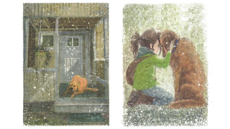 Иллюстрации Татьяны Петровска к книге Аси Кравченко «Куда бежишь»
