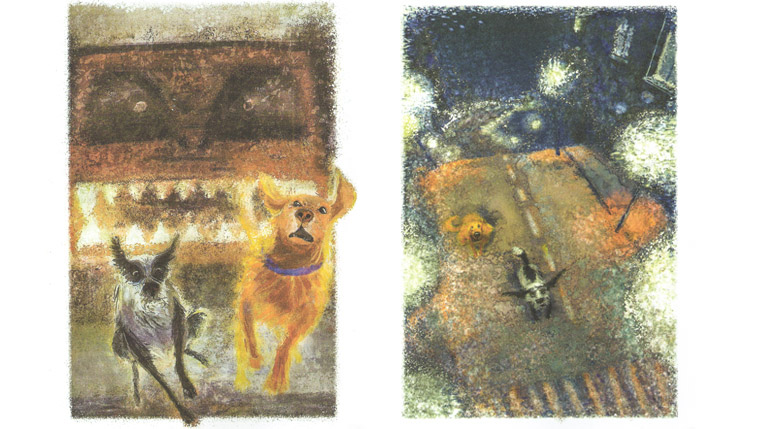 1 Иллюстрации Татьяны Петровска к книге Аси Кравченко «Куда бежишь»