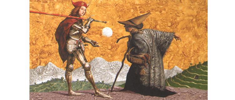 Иллюстрация Владислава Ерко к книге Сказки Туманного Альбиона