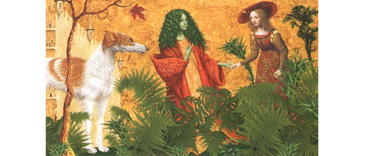 1 Иллюстрация Владислава Ерко к книге Сказки Туманного Альбиона