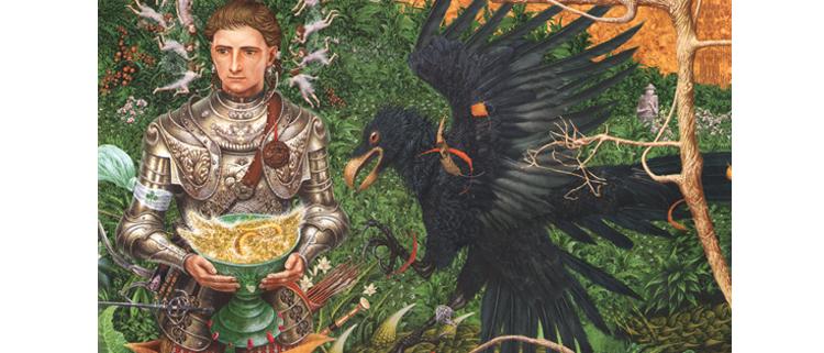 2 Иллюстрация Владислава Ерко к книге Сказки Туманного Альбиона