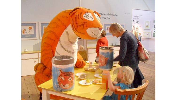 Выставка в лондонском Музее детства, посвященная творчеству Джудит Керр