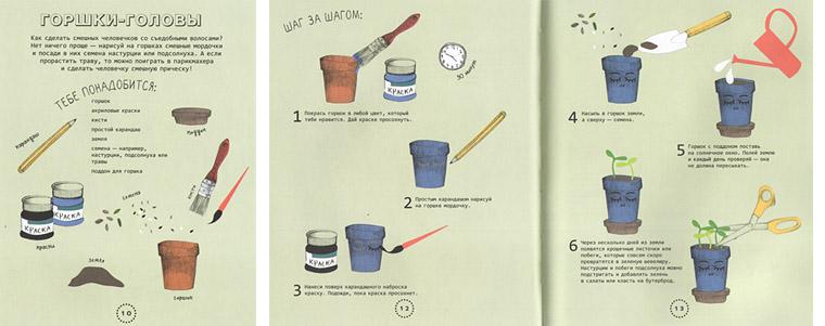 Иллюстрации из книги «Огород на подоконнике»