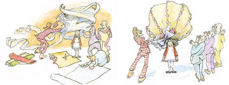1 Иллюстрации Дэвида Смолла к книге «Оленьи рога Имогены»