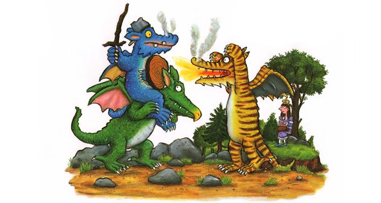 1 Иллюстрация Акселя Шеффлера к книге Джулии Дональдсон «Зог»