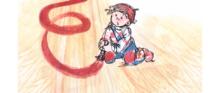 1 Иллюстрация Натальи Кучеренко к книге Анне-Катарины Вестли «Папа, мама, бабушка, восемь детей и грузовик»