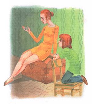 Иллюстрация В Долгова к сказке К Паустовского «Растрепанный воробей»