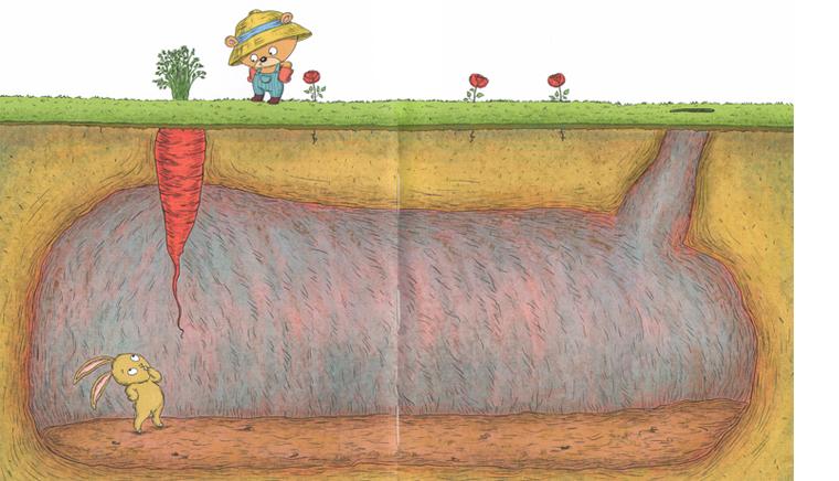 2 Иллюстрация из книги «Садовник и куст»