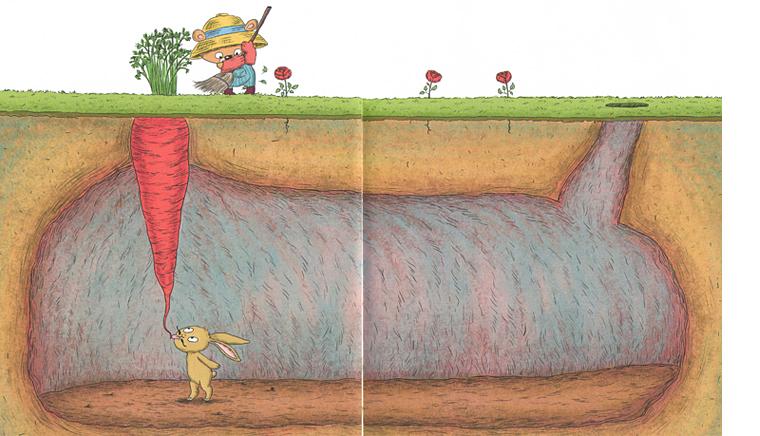 3 Иллюстрация из книги «Садовник и куст»
