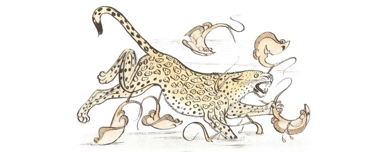 3 Иллюстрация Петра Багина к книге Орасио Кирога «Сказки сельвы»
