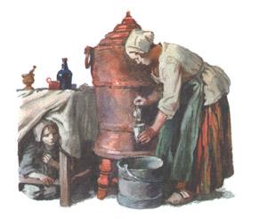 Иллюстрация А Иткина к книге «Козетта»