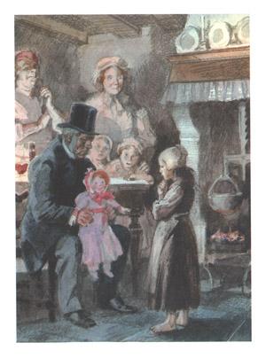 1 Иллюстрация А Иткина к книге «Козетта»